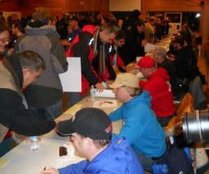 Musher's meet with fans in Whitehorse